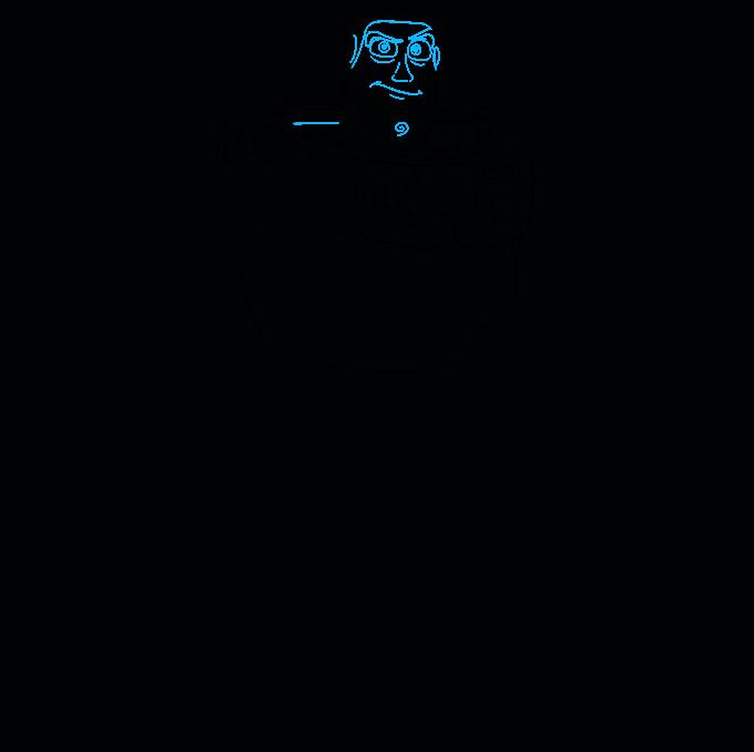 Cómo dibujar a Buzz Lightyear de Toy Story: Paso 6