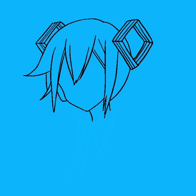 How to Draw Hatsune Miku Step 05