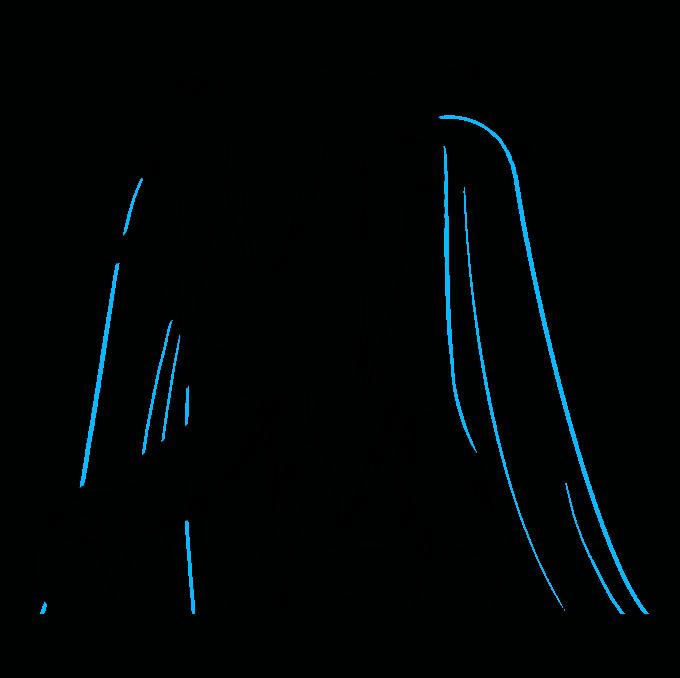 How to Draw Hatsune Miku Step 08