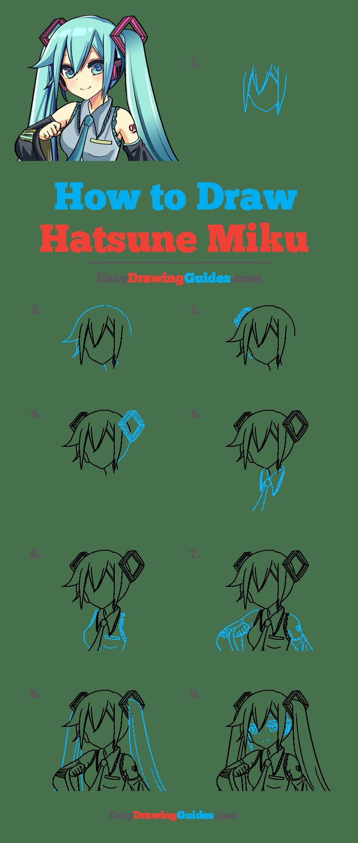 How to Draw Hatsune Miku
