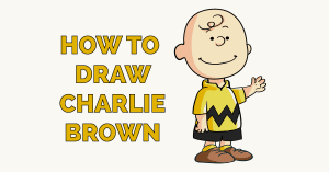 How to Draw Charlie Brown Featured Image