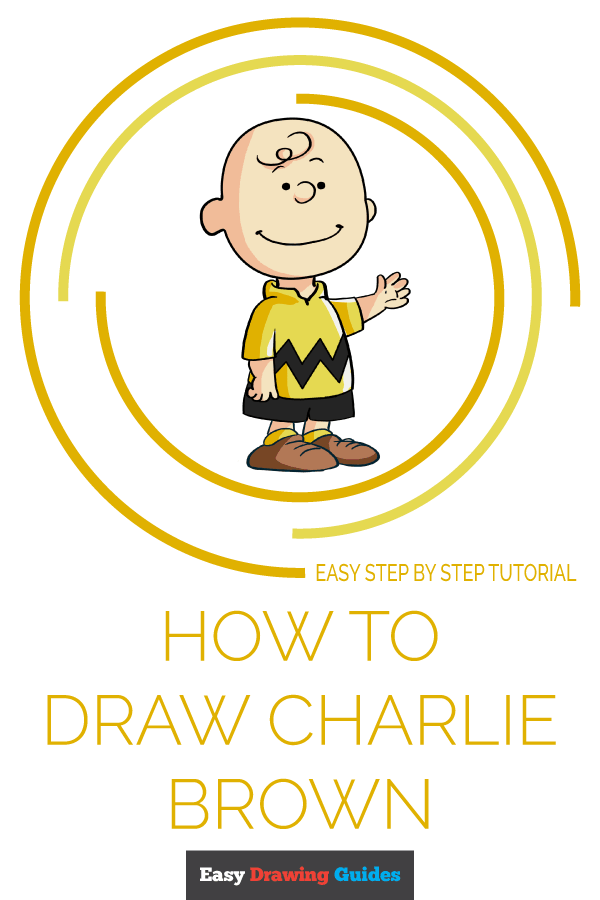 How to Draw Charlie Brown | Share to Pinterest