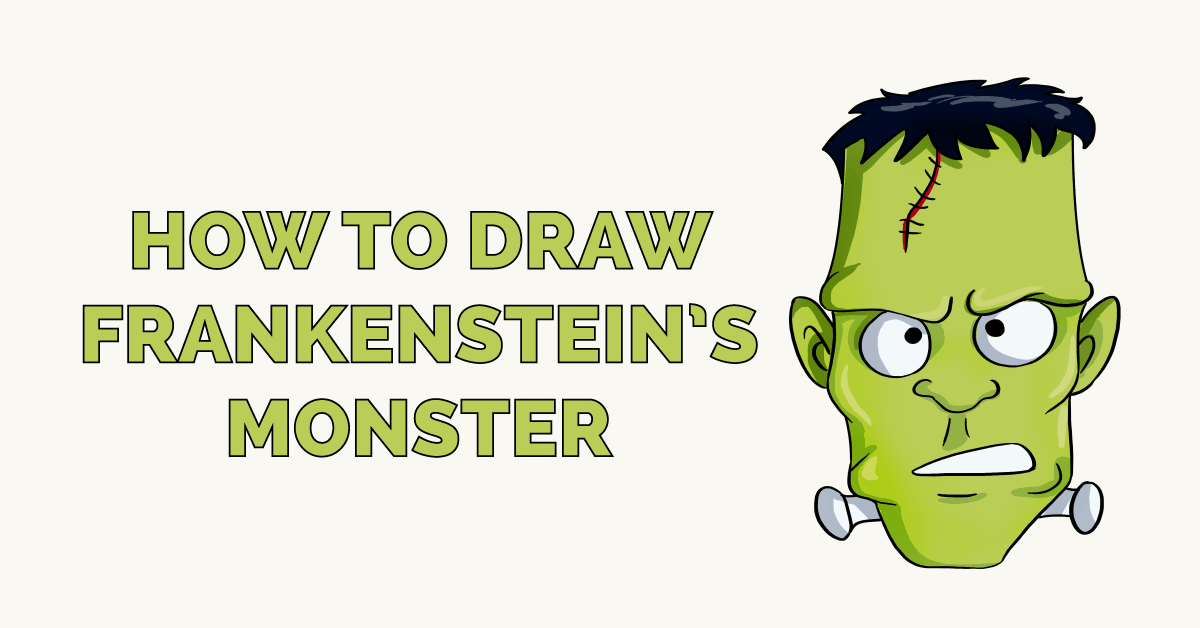 How to Draw Frankenstein's Monster Featured Image