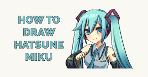 How to Draw Hatsune Miku Featured Image
