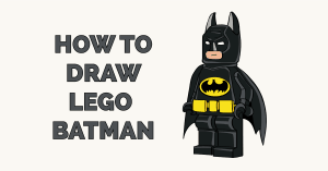 How to Draw Lego Batman Featured Image