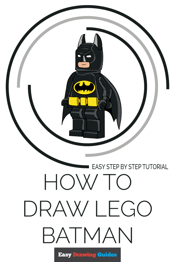 How to Draw Lego Batman | Share to Pinterest