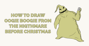 How to Draw Oogie Boogie from the Nightmare Before Christmas Featured Image