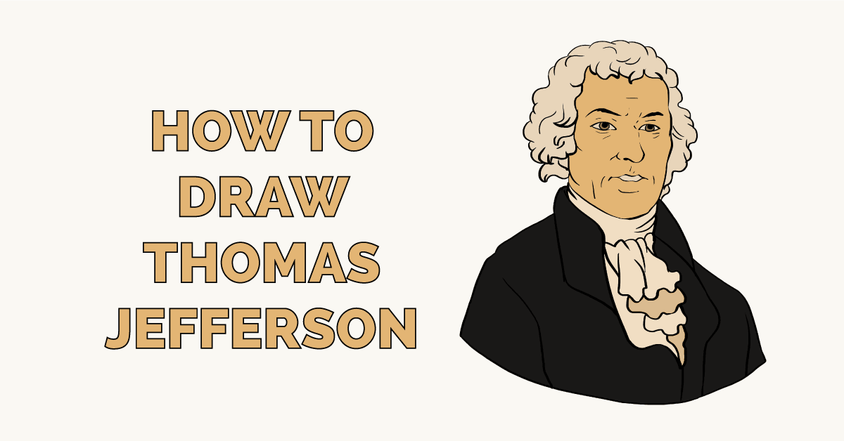 How to Draw Thomas Jefferson Featured Image