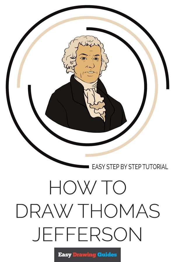 How to Draw Thomas Jefferson Pinterest Image