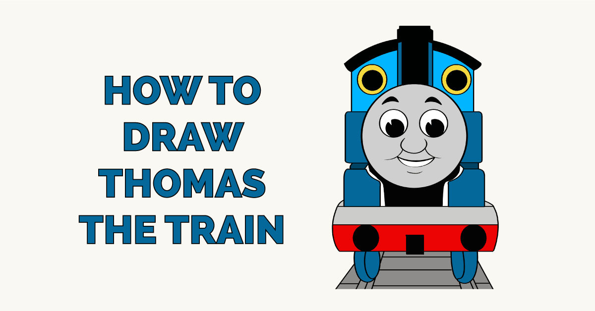 How to Draw Thomas the Train Featured Image