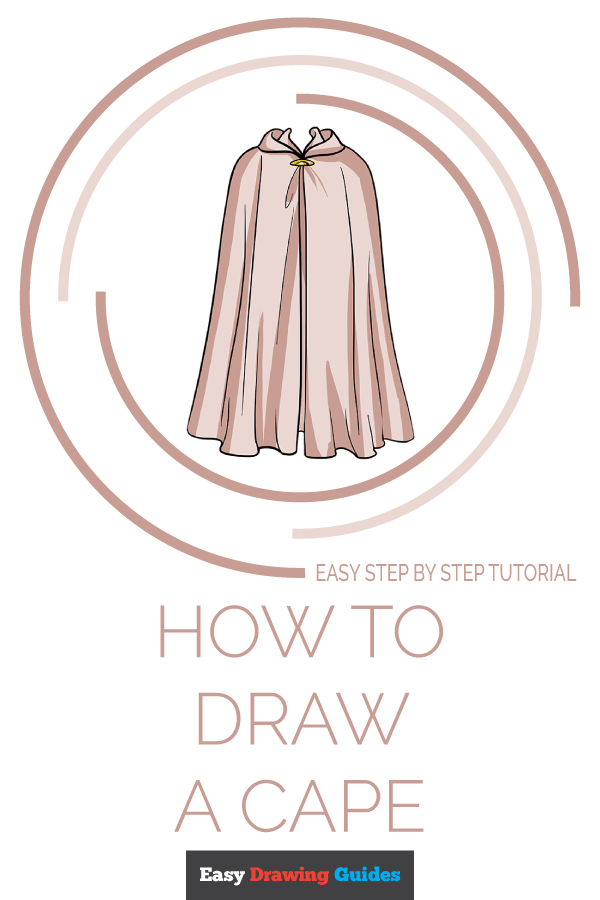 How to Draw Cape | Share to Pinterest