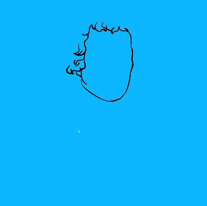 How to Draw Thomas Jefferson: Step 3