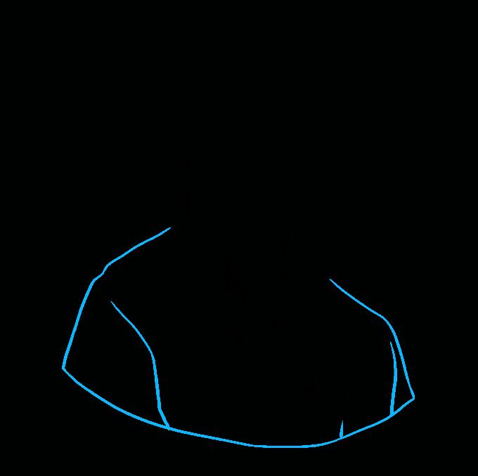 How to Draw Thomas Jefferson: Step 6