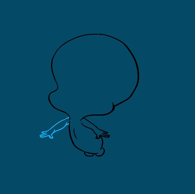 How to Draw Tweety Bird: Step 4