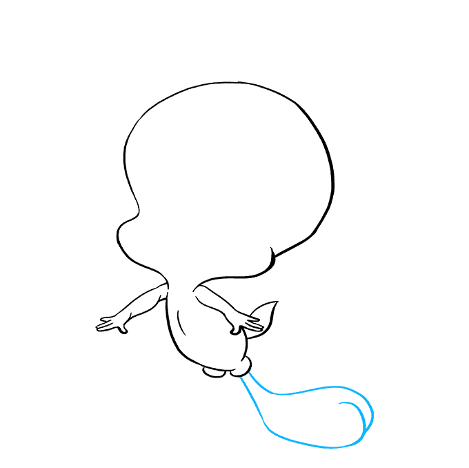 How to Draw Tweety Bird: Step 6