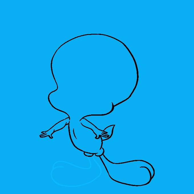 How to Draw Tweety Bird: Step 7