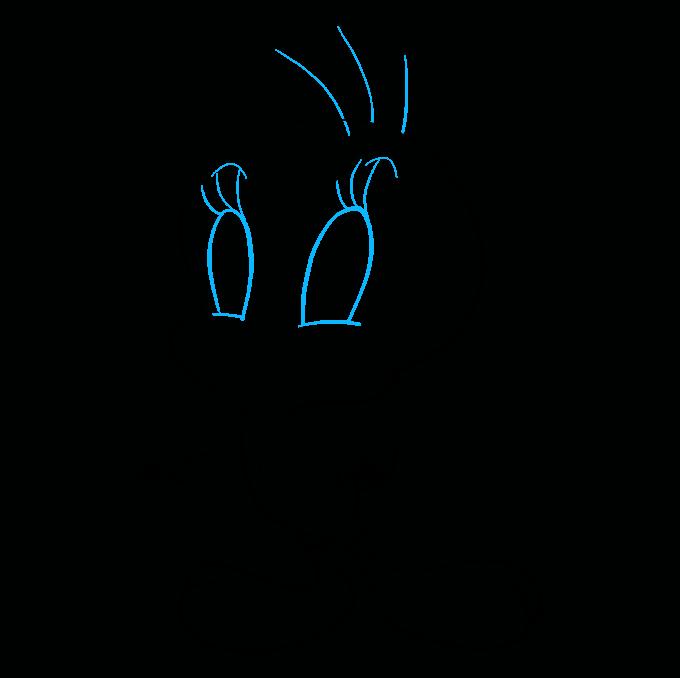 How to Draw Tweety Bird: Step 8