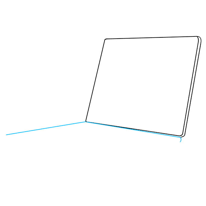 How to Draw Computer: Step 3