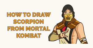 How to Draw Scorpion from Mortal Kombat Featured Image