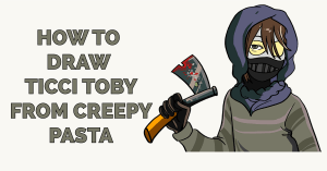 How to Draw Ticci Toby from Creepy Pasta Featured Image