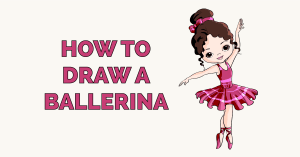 How to Draw a Ballerina Featured Image