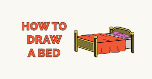 How to Draw a Bed Featured Image