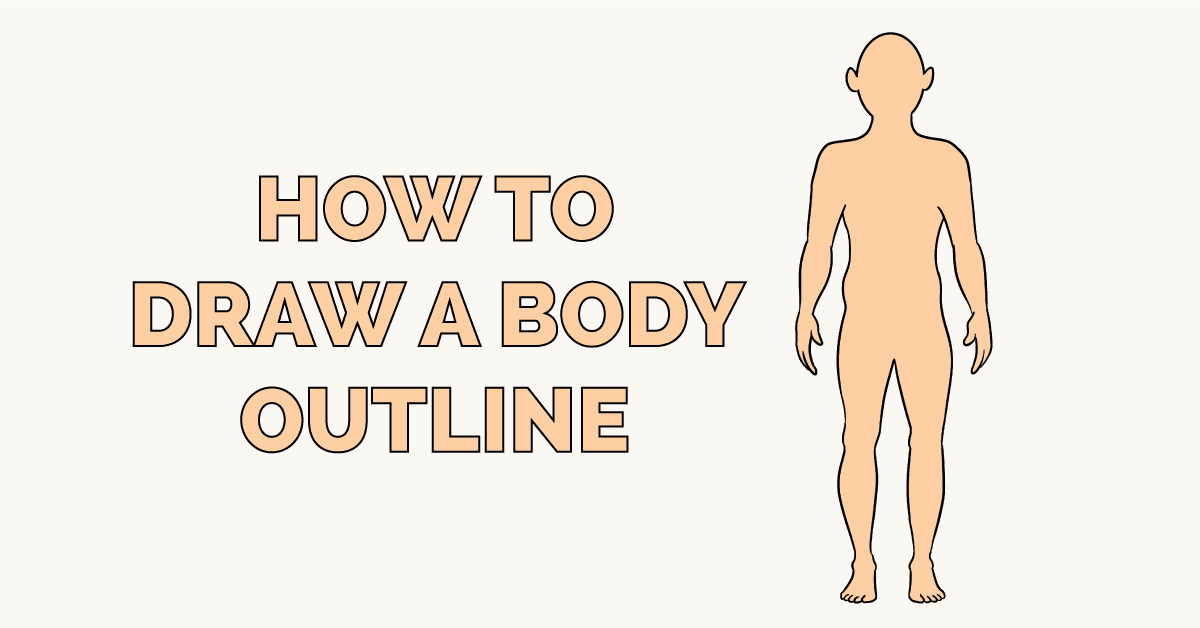 How to Draw a Body Outline Featured Image