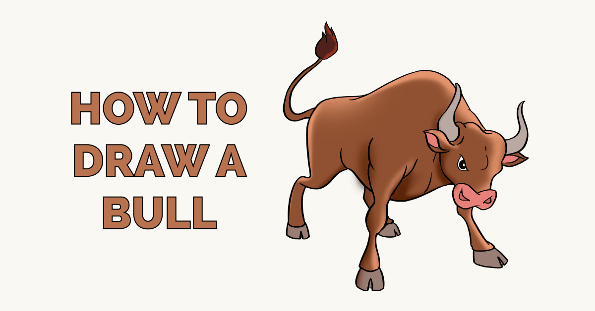 How to Draw a Bull Featured Image