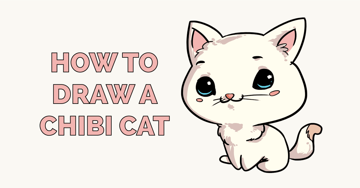 How to Draw a Chibi Cat Featured Image