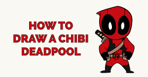 How to Draw a Chibi Deadpool Featured Image