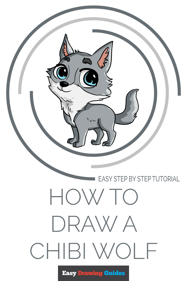 How to Draw Chibi Wolf | Share to Pinterest