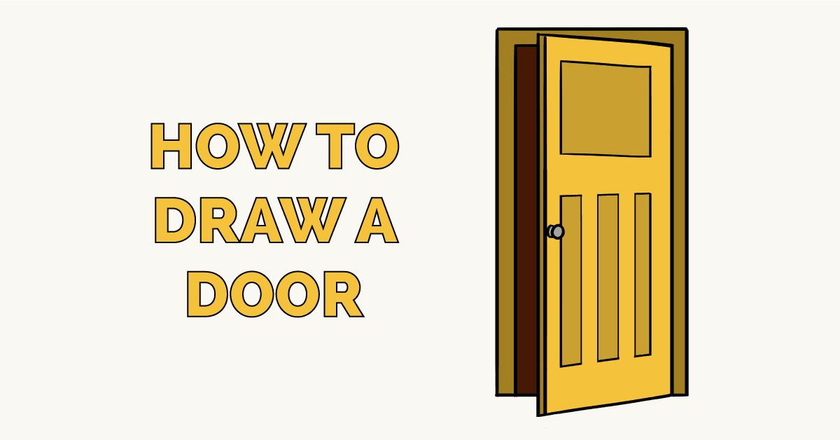 How to Draw a Door Featured Image