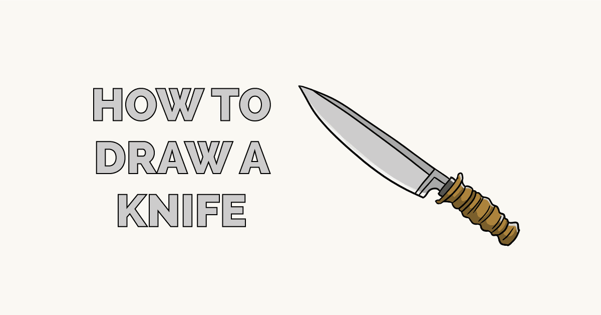 How to Draw a Knife Featured Image