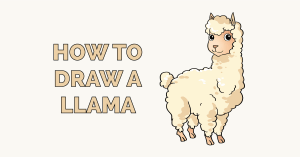 How to Draw a Llama Featured Image