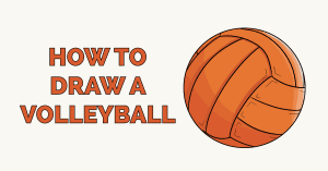 How to Draw a Volleyball Featured Image