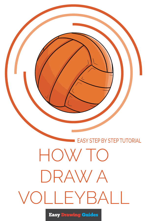 How to Draw Volleyball | Share to Pinterest