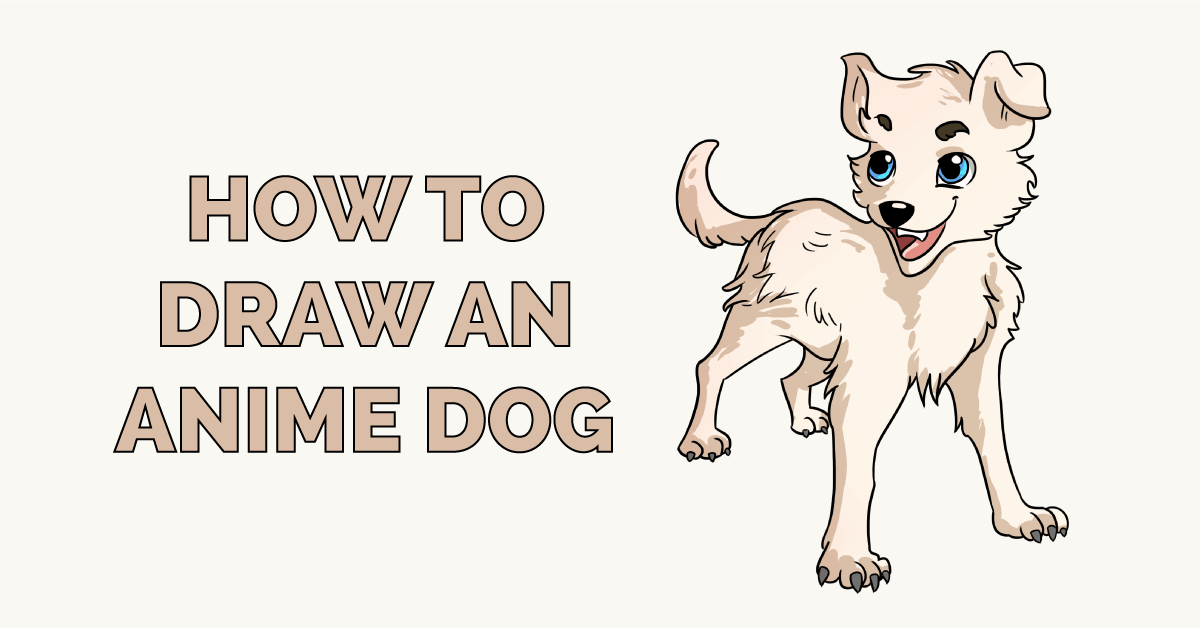 How to Draw an Anime Dog Featured Image