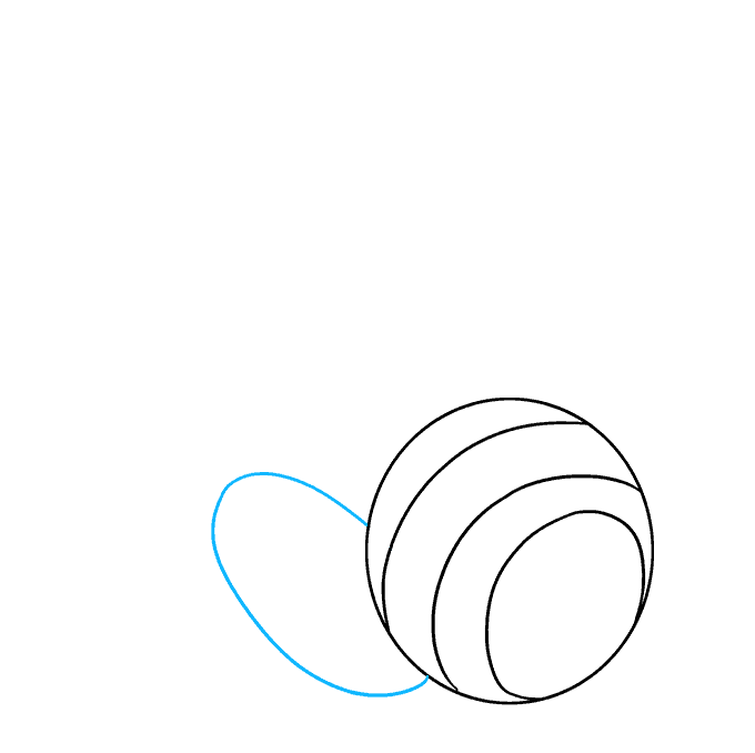 How to Draw Headphones: Step 3