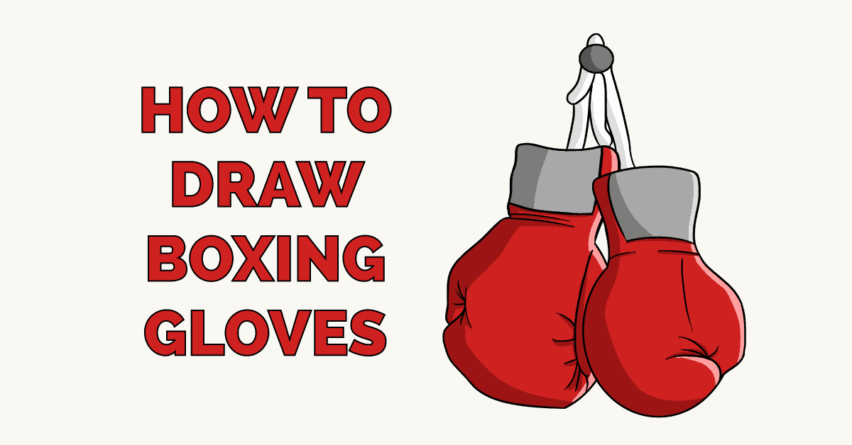 How to Draw Boxing Gloves Featured Image