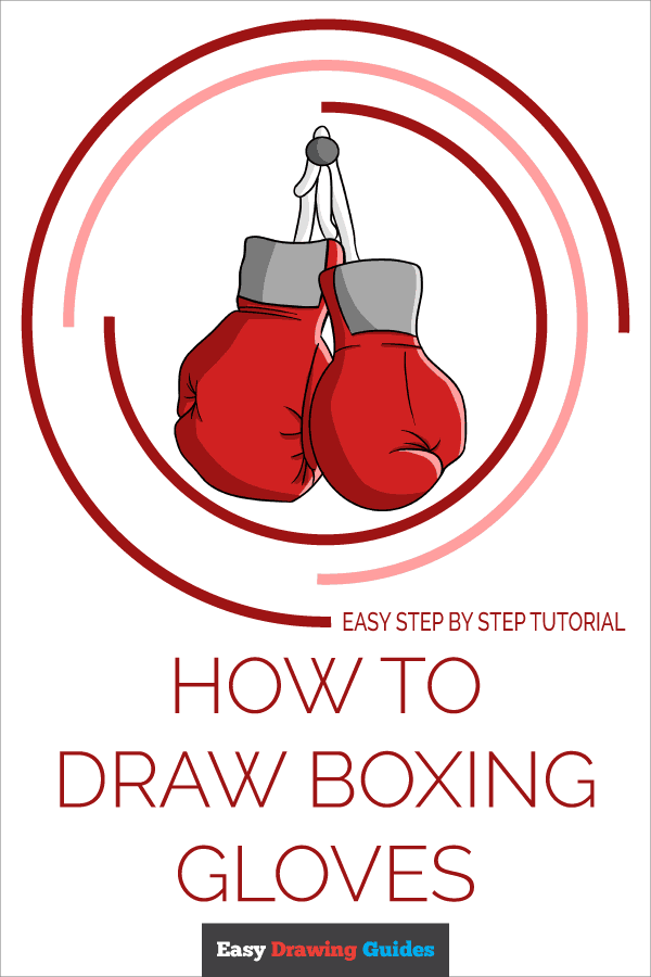 How to Draw Boxing Gloves | Share to Pinterest