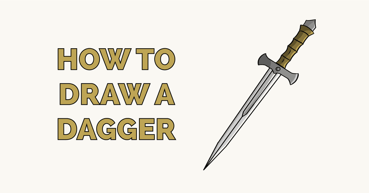 How to Draw a Dagger Featured Image
