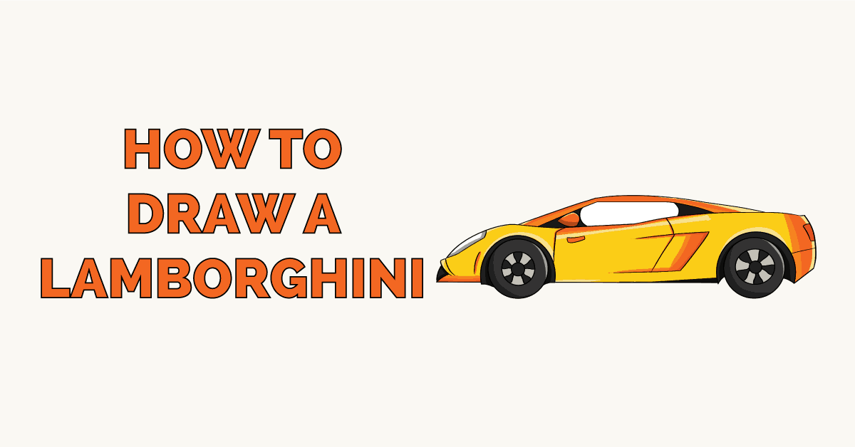 How to Draw a Lamborghini Featured Image