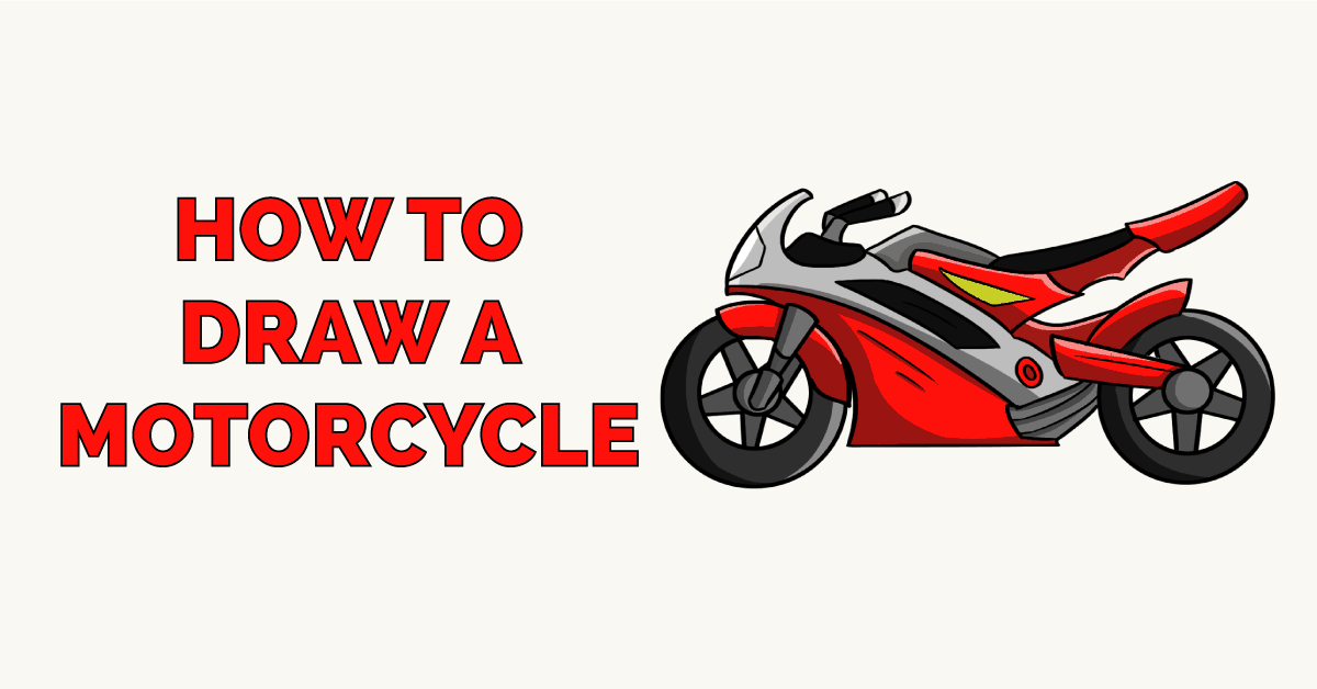 How to Draw a Motorcycle Featured Image