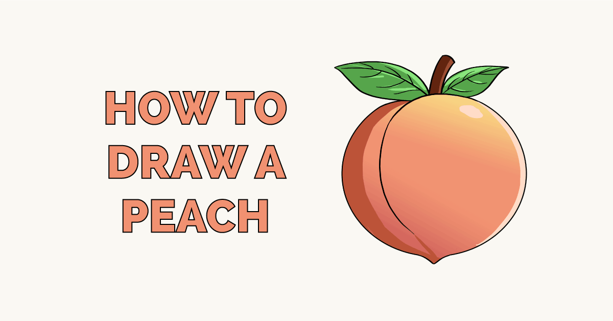 How to Draw a Peach Featured Image