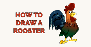 How to Draw a Rooster Featured Image