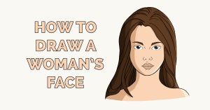 How to Draw a Woman's Face Featured Image