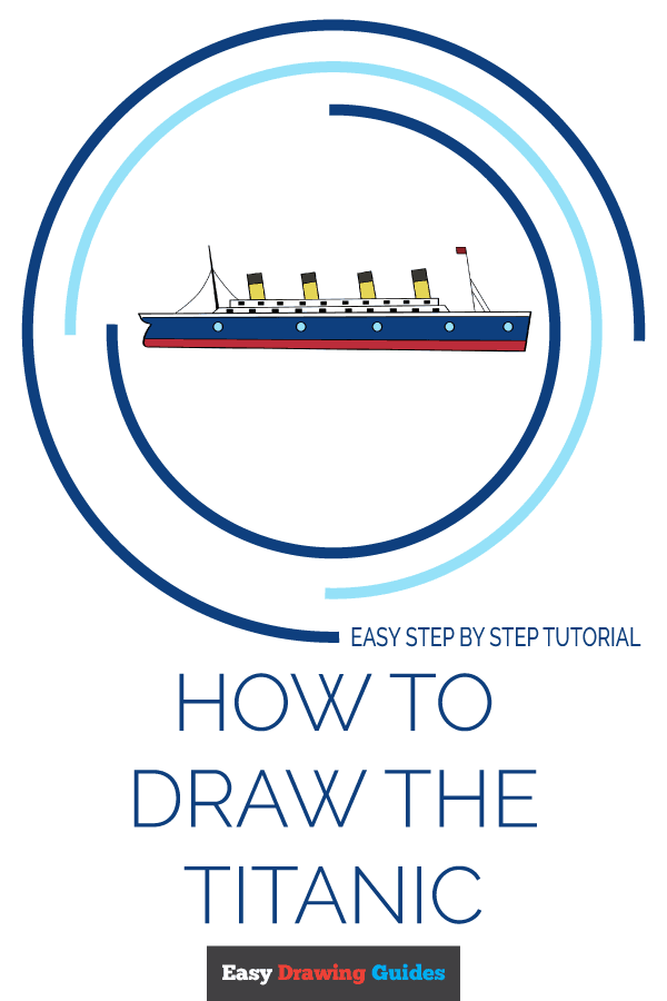 How to Draw Titanic | Share to Pinterest