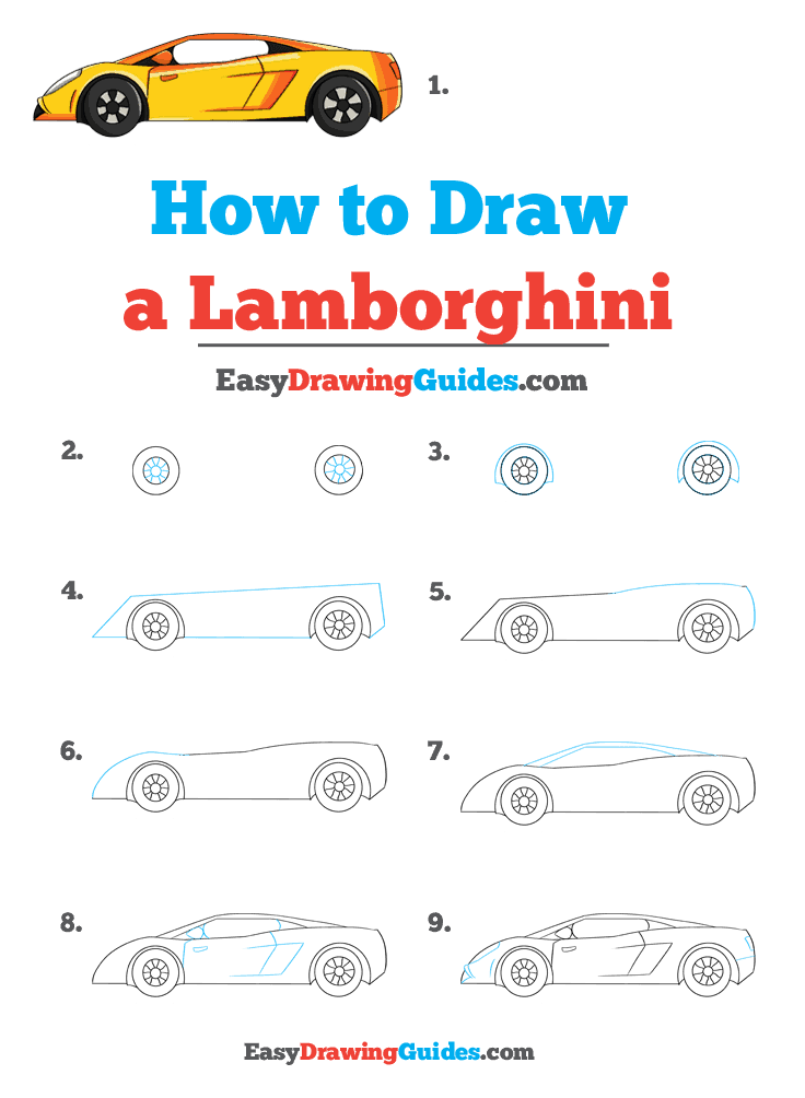 How to Draw Lamborghini