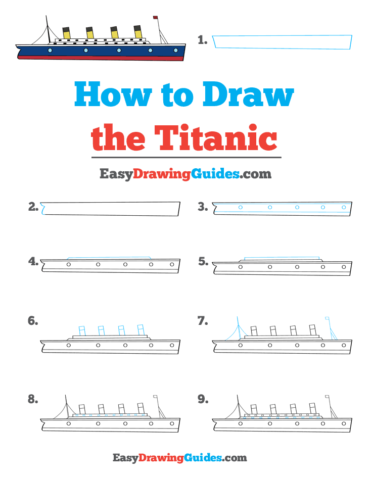 How to Draw Titanic