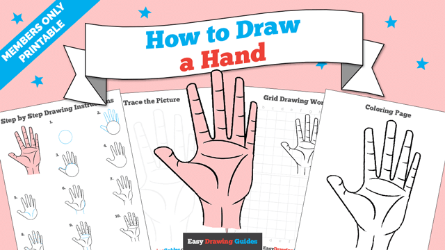 download a printable PDF of Hand drawing tutorial
